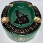 LA FLOR DOMINICANA - (LIMITED EDITION) ANDALUSIAN BULL CERAMIC ASHTRAY