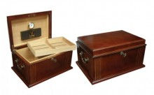 Ceasar 50 Count Antique Humidor