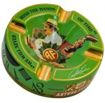 ARTURO FUENTE 'Journey Through Time' Ashtray - Green