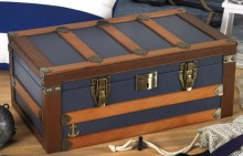Admiral 120ct Blue Trunk Humidor