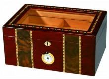 Humidor Pompeii Glasstop 100 Cigar Capacity