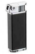 ETERNITY PIPE LIGHTER (Black & Silver) W/ TAMPER