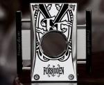 2018 LE Fuente Fuente OPUSX Forbidden X Cutter H White Lacquer withBlack Forbidden XLogo Includes leather protective case