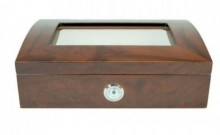GLASS DOME HUMIDOR 40 CIGAR CAPACITY