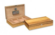 APPLE WOOD HUMIDOR 180 CIGAR CAPACITY