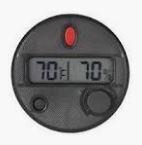 HygroSet FM Digital Hygrometer Round - DHYG-ROUND