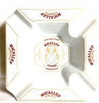 Micallef 4 Cigar Ashtray White