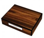 Prometheus Rosewood Travel Humidor in Protective Travel Case