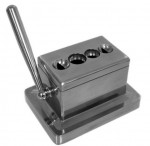 Quad Table Cigar Cutter Desktop Stainless Steel 4-in-1