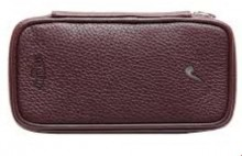 Savinelli Leather Pouch 3 Pipes