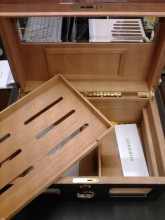Game of Thrones Inspired Humidor 200 Cigar Capacity