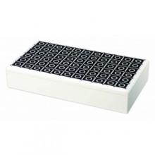 A1 Lacquer Flexi-box - Bianco e Nero