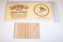 BALSA INSERTS FOR BRIAR CIGARETTE HOLDERS