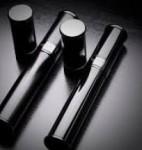 Prometheus Black Lacquer/Gun Metal Pocket Travel Cigar Tubes