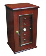Charleston 150 Count 7 Drawer Cherry Humidor