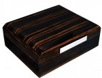Prometheus Octagon Series 50ct Macassar Humidor