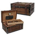 Humidor 100 Cigar Capacity Steampunk Chest Humidor
