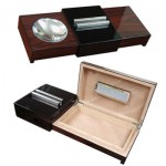 Cigar Ashtray with Humidor